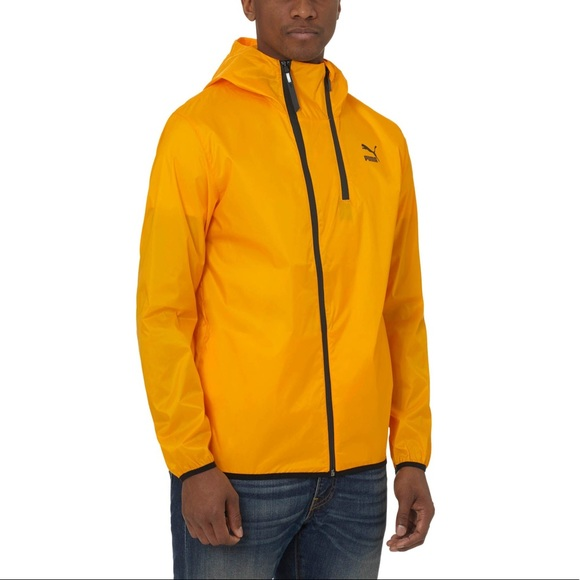 109c98d74166 Men s Yellow Evo Hooded Windbreaker. M 5a9cce7472ea880498d6cc88. Other  Jackets   Coats you may like. Puma Vintage Windbreaker Jacket